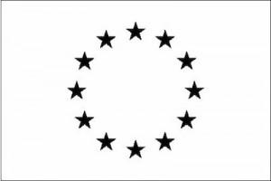 EU logo black white