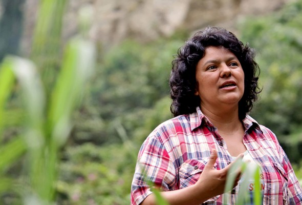 Civil society condemns murder of Berta Cáceres