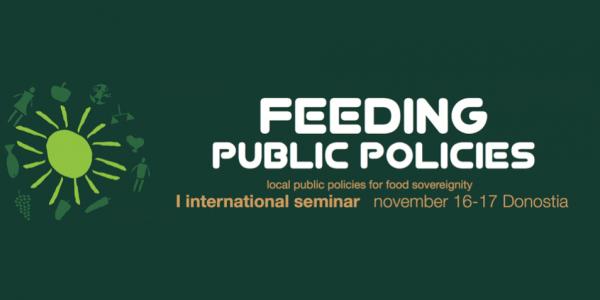 Feeding Public Policies – International Seminar