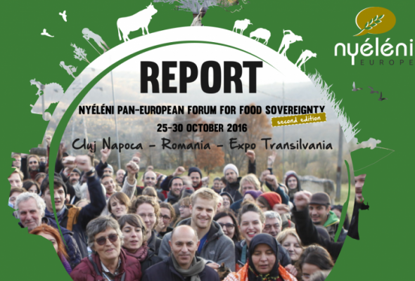 Report – Nyéléni Europe Forum 2016